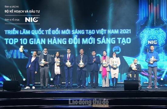 Bế mạc Triển lãm Quốc tế Đổi mới Sáng tạo Việt Nam 2021