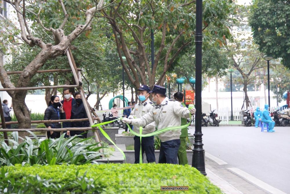 Phong tỏa tòa T6 Times City vì có ca mắc Covid-19