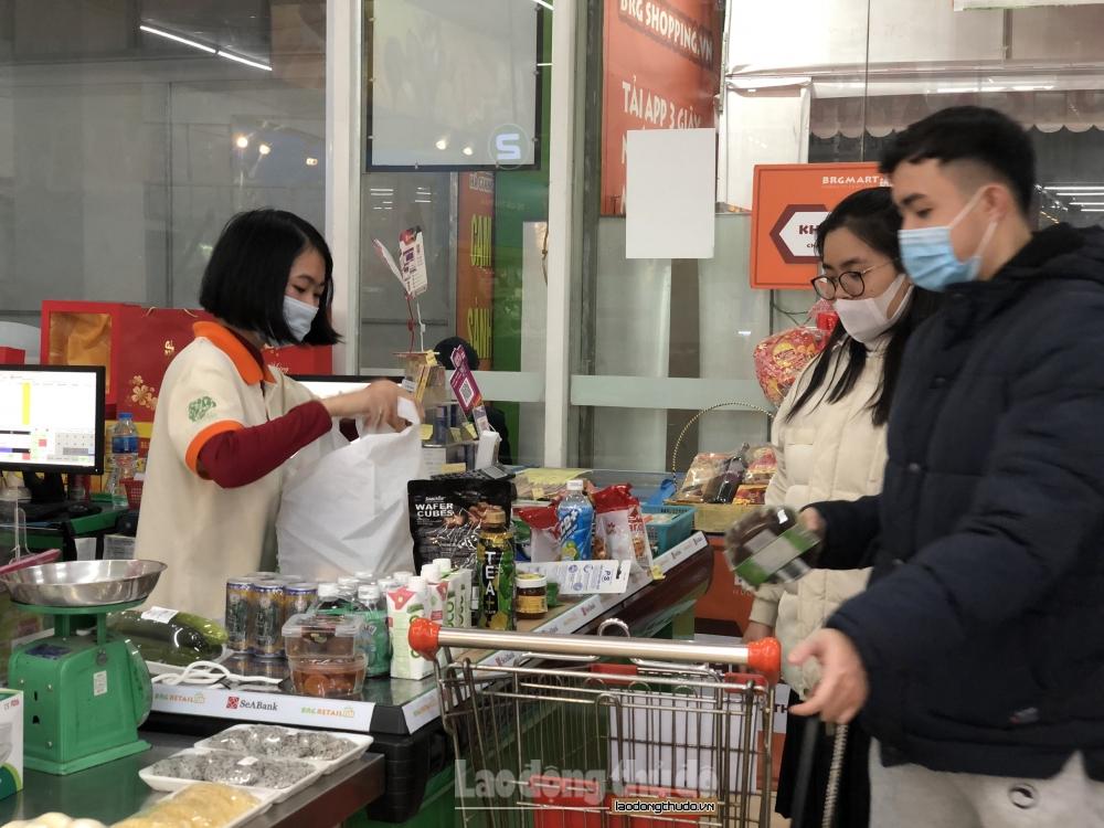 Hà Nội: Các siêu thị đồng loạt