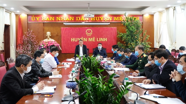 Tăng 2 ca mắc Covid-19, huyện Mê Linh tập trung truy vết các trường hợp F1, F2, F3