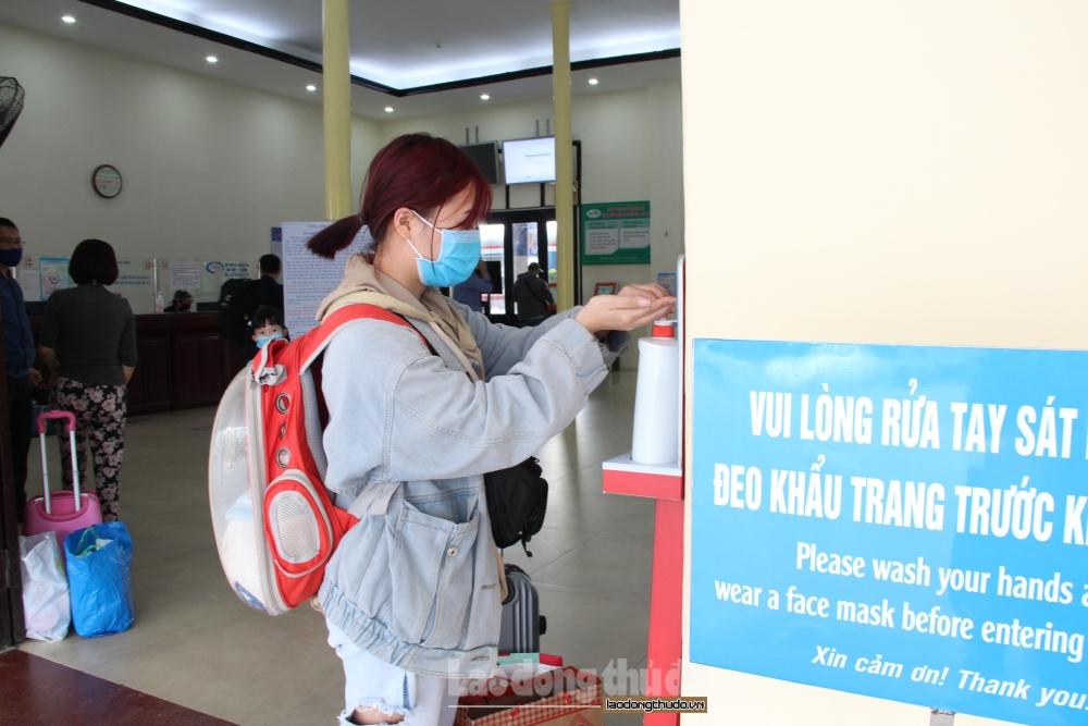 Ga Hà Nội triển khai nhiều biện pháp phòng, chống dịch Covid-19 trong dịp Tết Tân Sửu