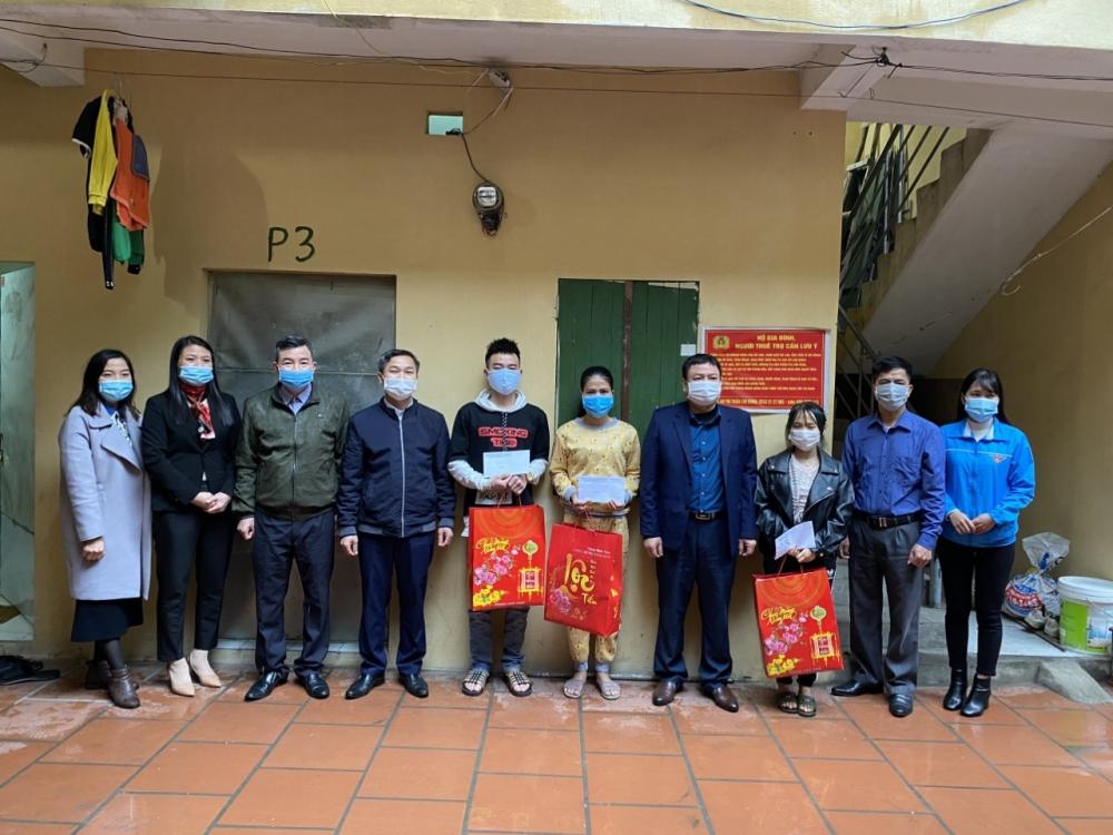 Huyện Mê Linh: Không để người lao động nào bị bỏ lại phía sau do dịch Covid-19