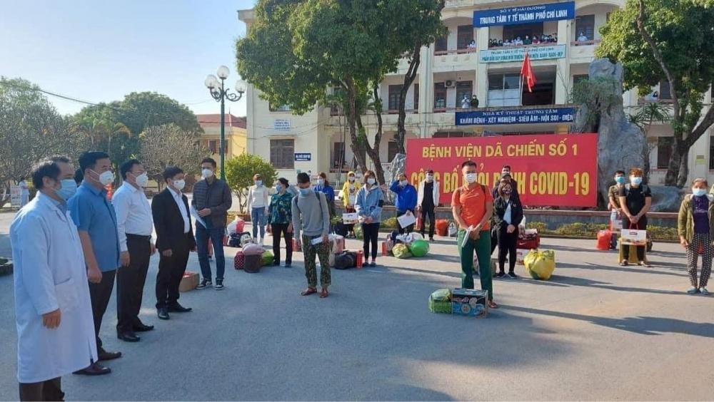 Chiều 30 Tết, 22 bệnh nhân được công bố khỏi bệnh tại Chí Linh