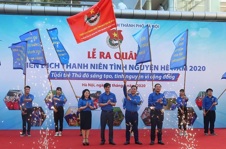 """Thành đoàn Hà Nội triển khai hiệu quả phong trào """"Thanh niên tình nguyện"""" năm 2020"""