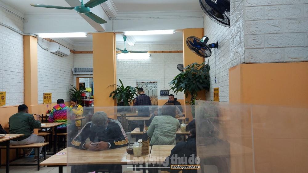 Quận Hai Bà Trưng: Nhiều hàng quán ngừng hoạt động chống dịch Covid-19