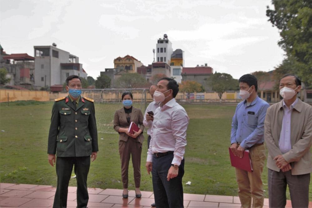 Doanh nghiệp tại huyện Cẩm Giàng được phép hoạt động khi đáp ứng đủ tiêu chí chống dịch