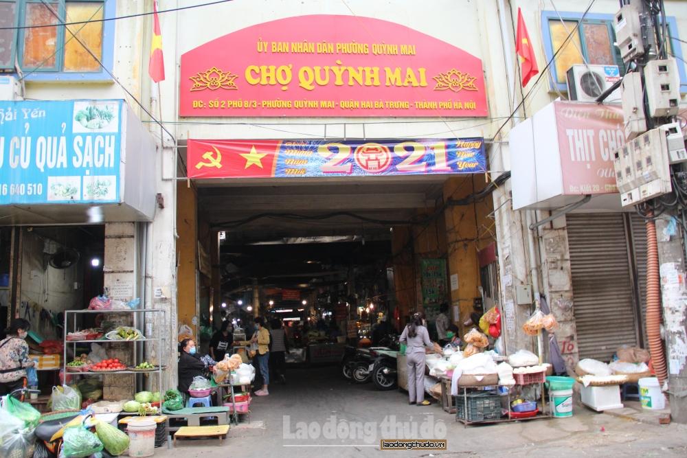 Hướng dẫn bố trí địa điểm tạm thời và mở lại chợ sau thời gian đóng cửa phòng dịch