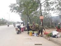 Tràn lan vi phạm hành lang giao thông trên đường Đại lộ Thăng Long