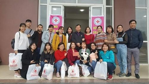 Sôi nổi ngày hội hiến máu tình nguyện huyện Mê Linh