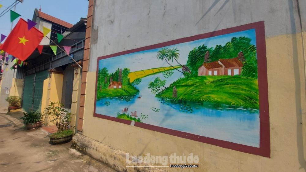 Thôn Cổ Hạ, xã Phương Đình giữ gìn khu dân cư sạch đẹp