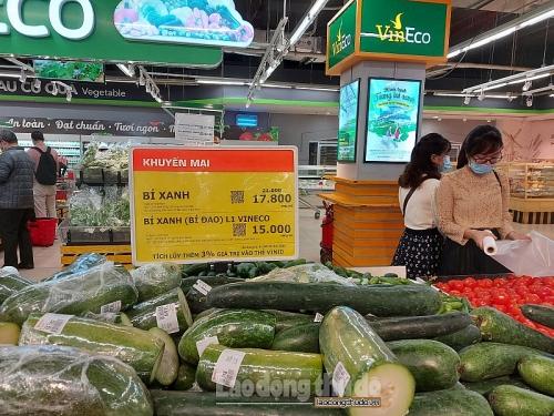 Hà Nội: 100% hệ thống phân phối, siêu thị đảm bảo công tác phòng dịch theo diễn biến mới