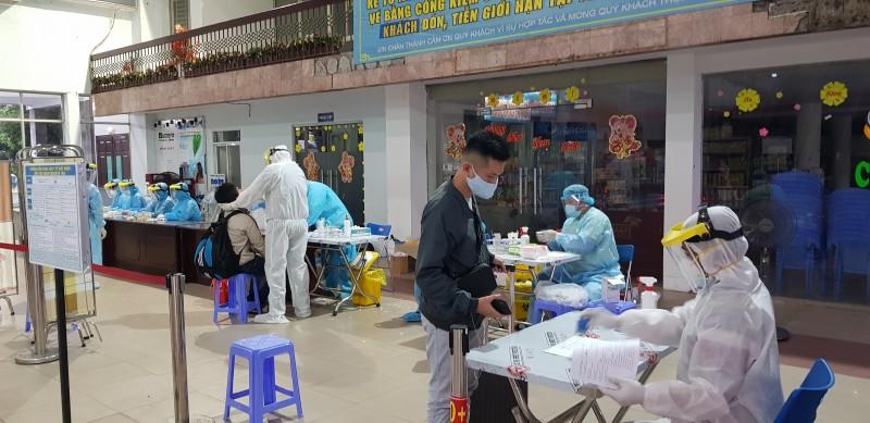 Từ 11/4, hành khách đến Ga Sài Gòn sẽ phải lấy mẫu xét nghiệm Covid-19