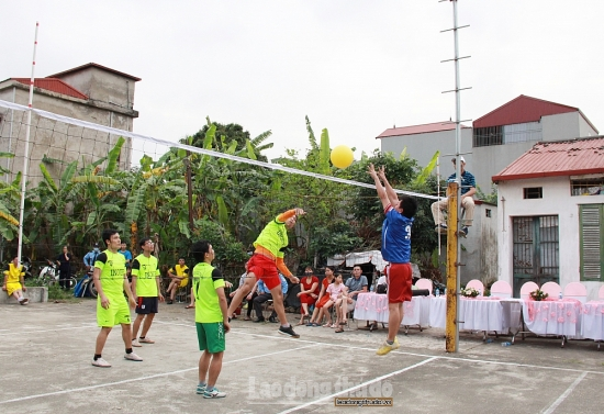 Sôi nổi giải bóng chuyền Công ty TNHH cao su Inoue Việt Nam