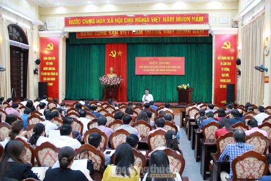 Bầu cử Quốc hội: Phát huy vai trò của người đại biểu nhân dân