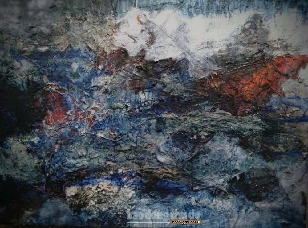 """Gần 40 tác phẩm trưng bày tại triển lãm """"Mặc khải"""""""