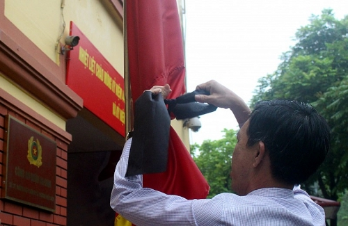 Hà Nội treo cờ rủ, cấm đường một số tuyến phố trong ngày Quốc tang nguyên Chủ tịch nước Lê Đức Anh