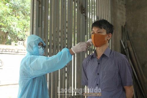 Người từ 4 địa phương của tỉnh Hải Dương về Hà Nội phải tự cách ly y tế