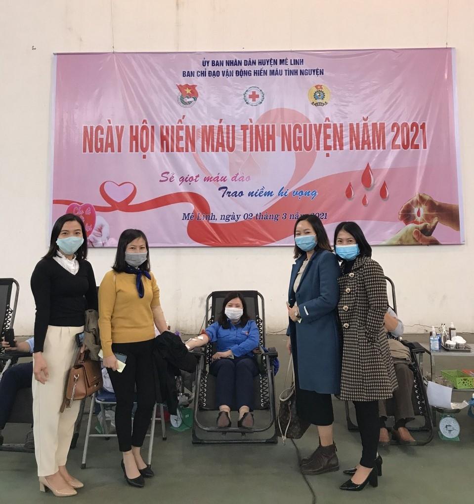 Công đoàn thị trấn Chi Đông đẩy mạnh học tập làm theo tấm gương đạo đức Hồ Chí Minh