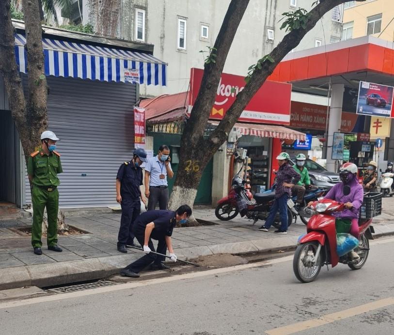 Quận Ba Đình: Xử phạt 731 trường hợp vi phạm trong 15 ngày ra quân