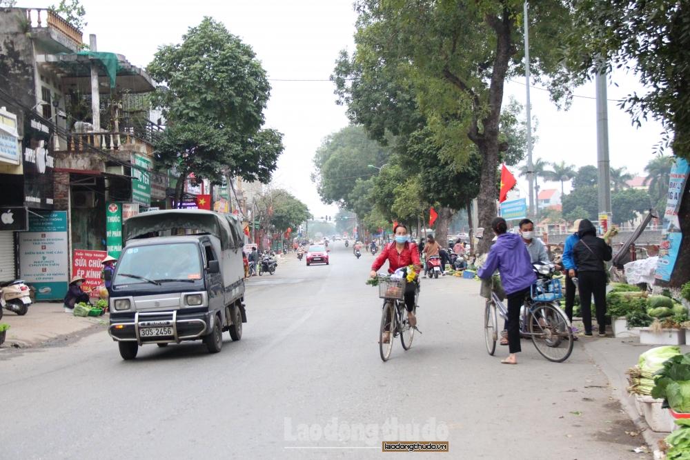 Huyện Mê Linh xác định 60 trường hợp F1 liên quan đến các ca mắc Covid-19