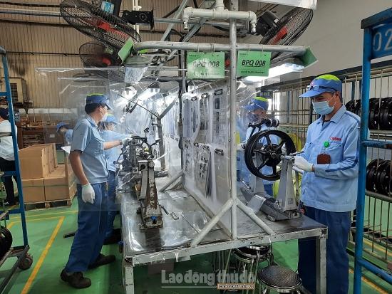 Quyết liệt chỉ đạo công tác phòng, chống dịch Covid-19 tại các Khu công nghiệp, chế xuất