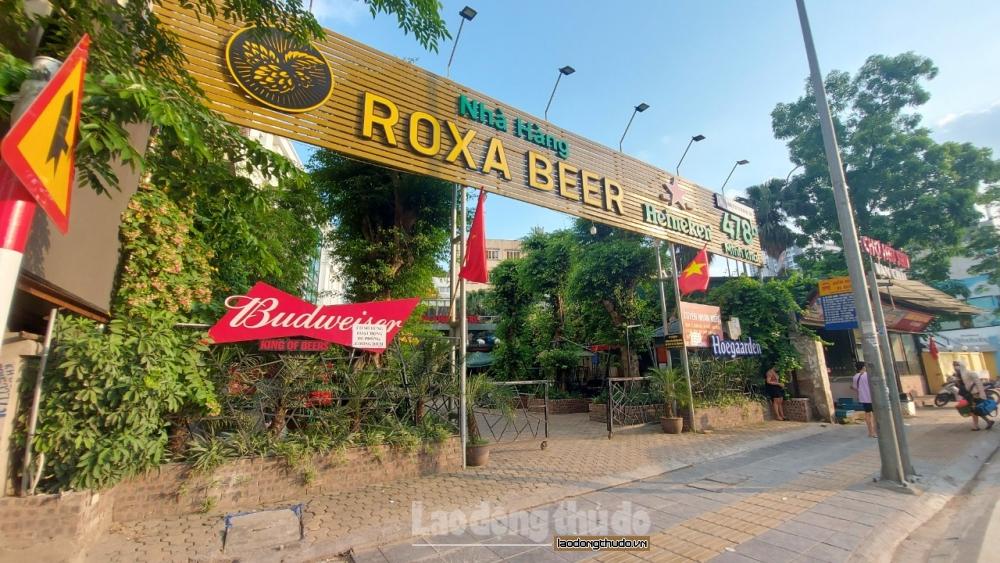 Chùm ảnh: Hàng loạt quán bia hơi