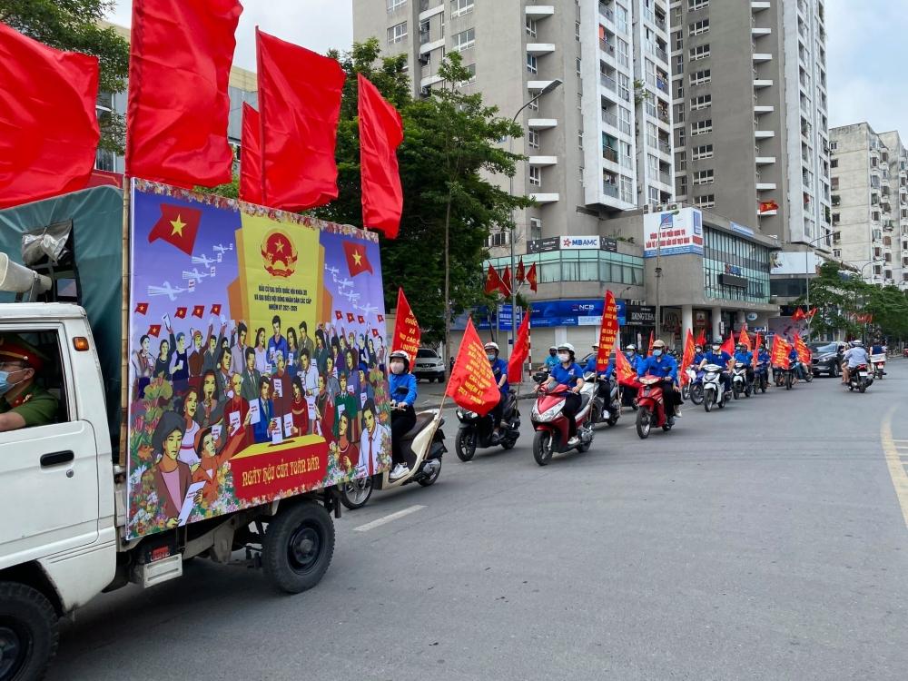 Nhiều hoạt động hướng về ngày hội non sông của tuổi trẻ Thủ đô