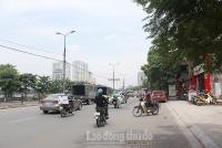 Quận Hoàng Mai: Đẩy mạnh công tác duy tu đường phố