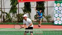 Sôi nổi Giải quần vợt tranh Cúp báo Kinh doanh và Pháp luật năm 2019
