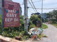 Người dân làng nghề giày da Phú Yên kêu cứu vì rác thải không được xử lý