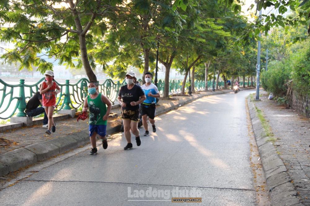 Từ 18h hôm nay (8/7), Hà Nội tạm dừng các hoạt động thể dục, thể thao ngoài trời