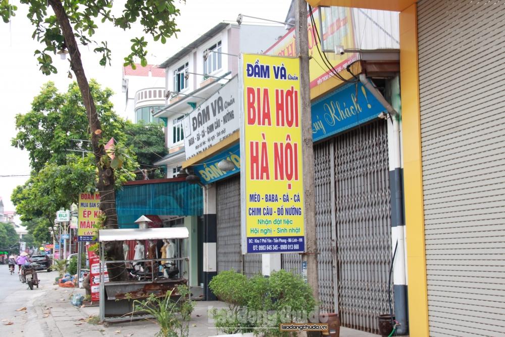 Huyện Mê Linh: Các cơ sở kinh doanh tuân thủ phòng, chống dịch Covid-19