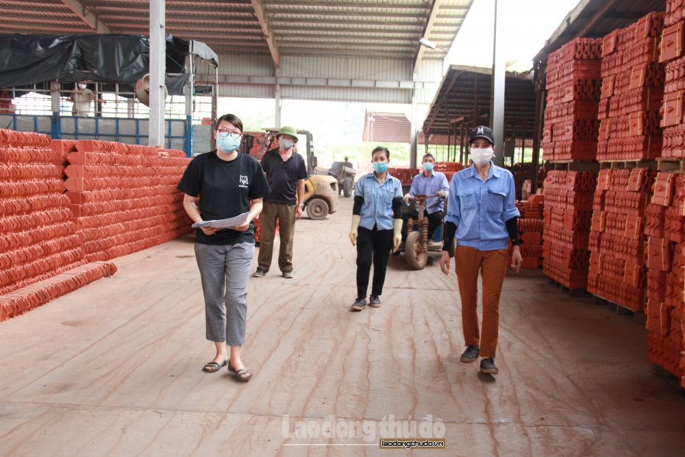 Dừng sản xuất nếu phát hiện công nhân vi phạm phòng, chống dịch Covid-19