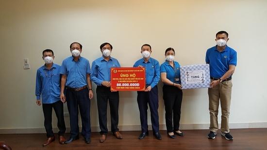 Trao hỗ trợ tới cán bộ, đoàn viên, người lao động tại Bắc Giang và Bắc Ninh