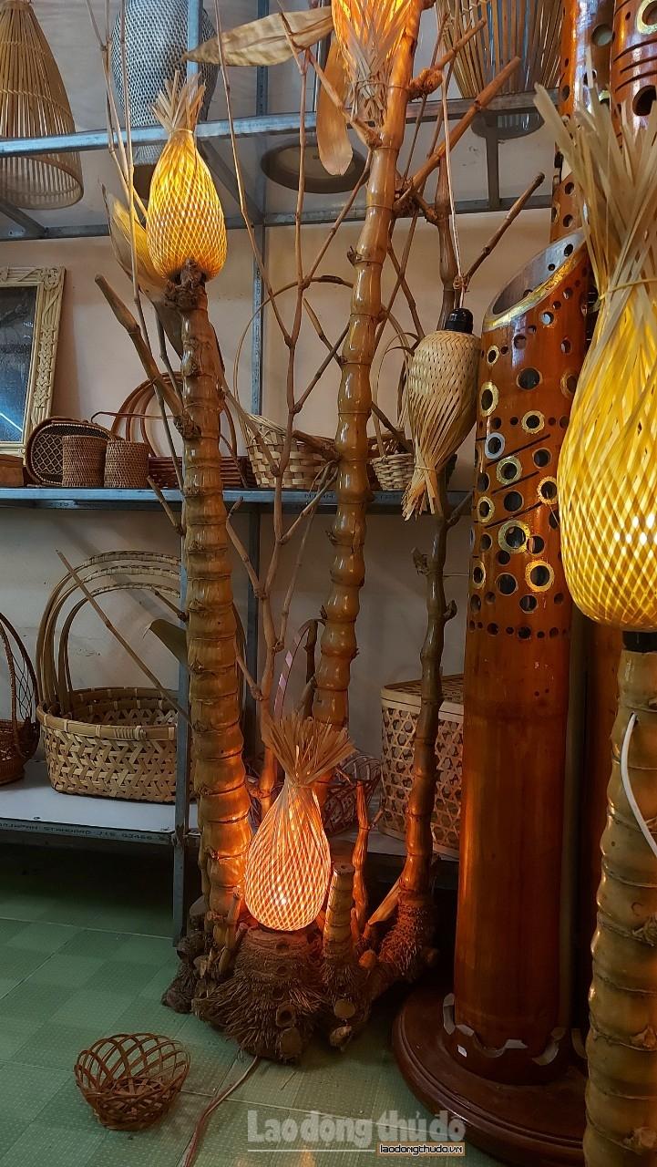 Mãn nhãn với sản phẩm mây tre đan độc đáo của nghệ nhân dành hơn nửa thế kỷ gắn bó với nghề