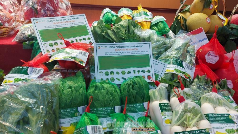 Hơn 1.200 doanh nghiệp sẵn sàng cung ứng hàng hóa cho Hà Nội