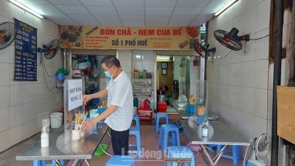 Hà Nội: Kiên quyết xử lý cơ sở kinh doanh, dịch vụ ăn uống vi phạm phòng, chống dịch