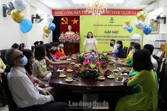 Quận Hoàn Kiếm khen thưởng các gia đình công nhân, viên chức, lao động tiêu biểu