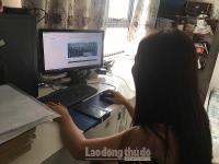 Tuyển sinh trực tuyến tạo thuận lợi cho người dân Thủ đô