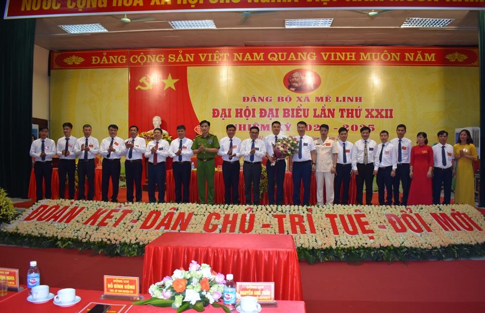 Huyện Mê Linh chuẩn bị tốt công tác tổ chức Đại hội đại biểu Đảng bộ huyện lần thứ XI