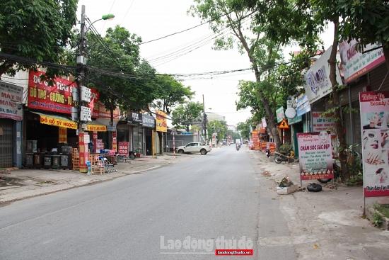 Huyện Mê Linh chỉ đạo các đơn vị cấp Giấy đi đường cho người đủ điều kiện lưu thông