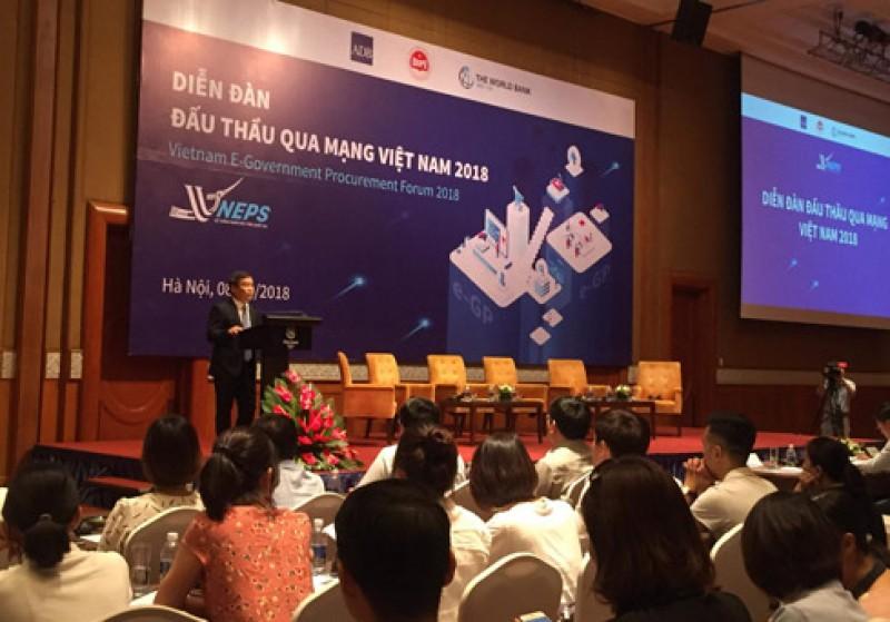 Tổ chức diễn đàn đấu thầu qua mạng Việt Nam 2018