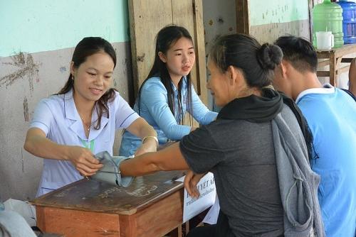 Sôi nổi các hoạt động tình nguyện của Tuổi trẻ Thủ đô tại Viêng Chăn (Lào)
