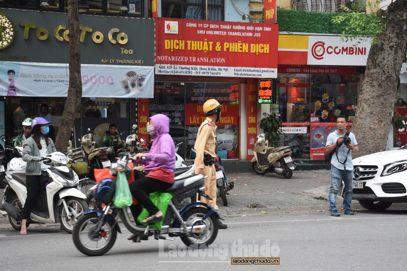 Hà Nội tăng cường bảo đảm trật tự an toàn giao thông
