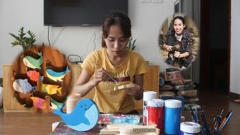 Nữ kiến trúc sư trẻ khởi nghiệp với đồ gỗ tái chế