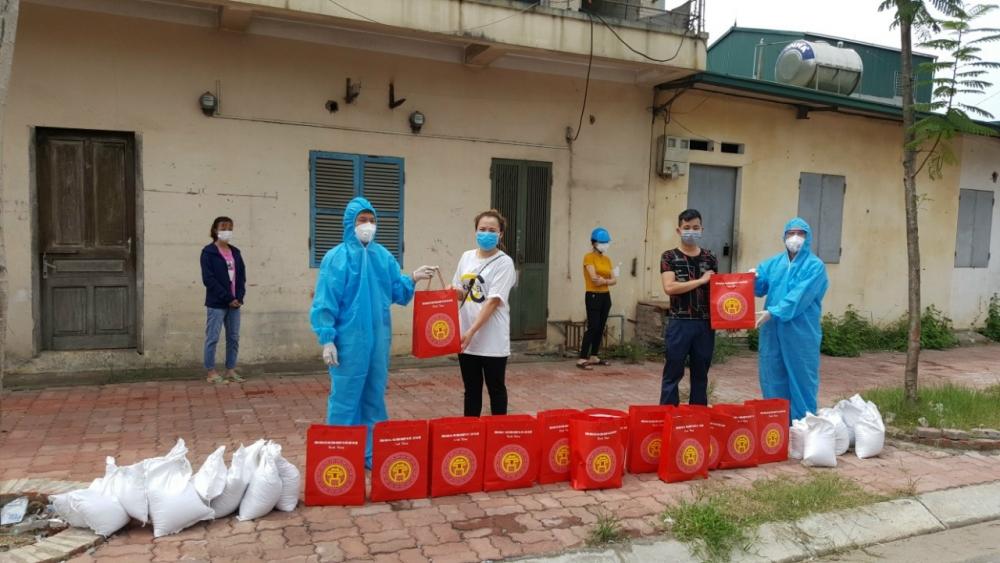 Hơn 300 công nhân lao động thuê trọ khó khăn được hỗ trợ khẩn cấp