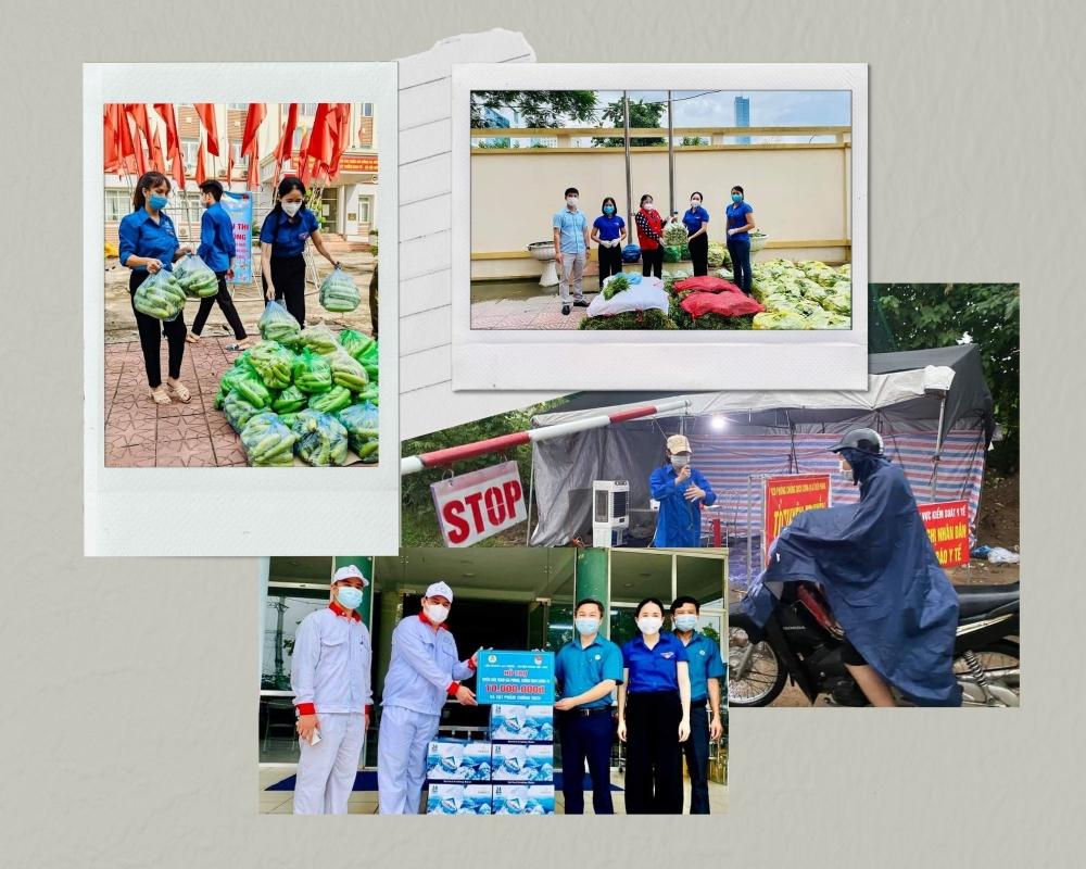 Tuổi trẻ huyện Mê Linh nỗ lực cùng chính quyền và nhân dân chống dịch Covid-19