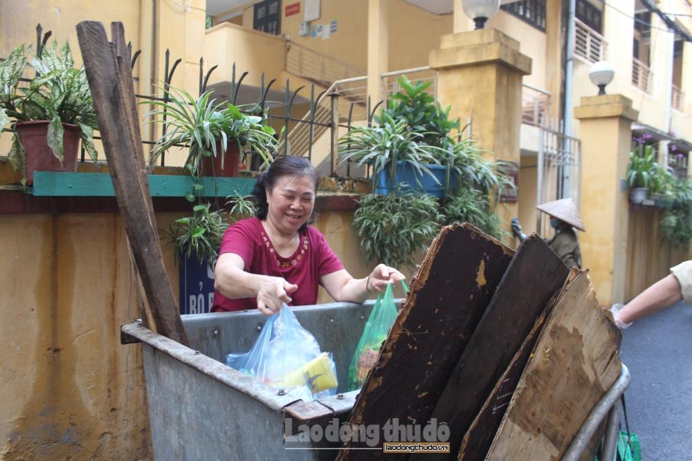 Thành công từ việc xây dựng tổ dân phố không rác