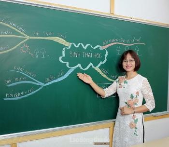 Nữ nhà giáo trẻ tâm huyết, sáng tạo vì sự nghiệp giáo dục