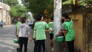 Chung tay vì đường phố sạch đẹp